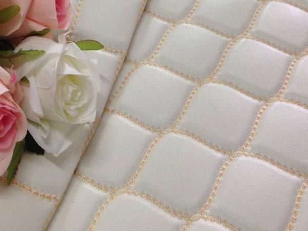 海绵床布裥花面料