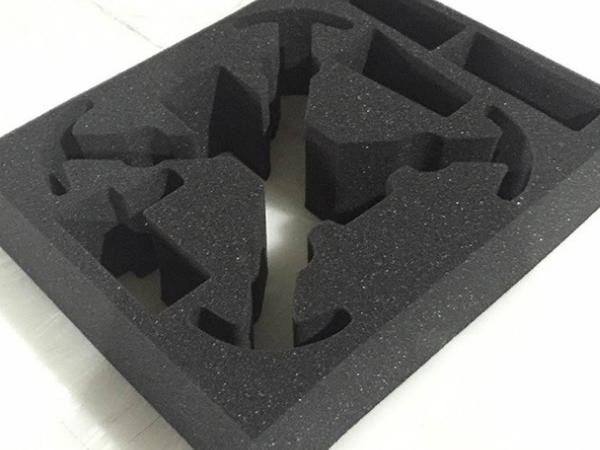 高密度黑色减震包装海绵